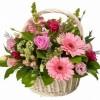 Корзина с цветами 102