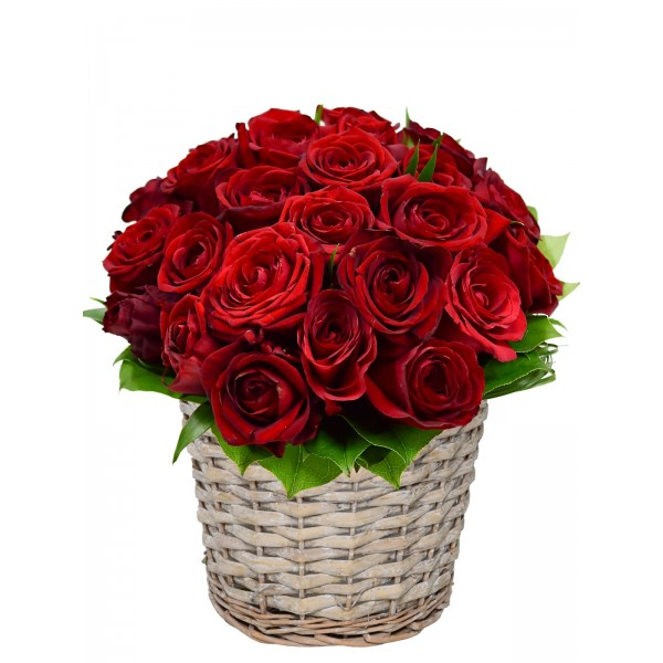 Корзина с цветами 107